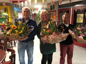Ilona de Jong verrassende winnaar 3e klaverjasavond