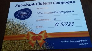 Mooi resultaat Rabobank Clubkascampagne