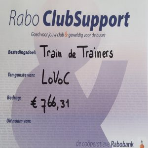 Mooie opbrengst Rabo Clubsupport