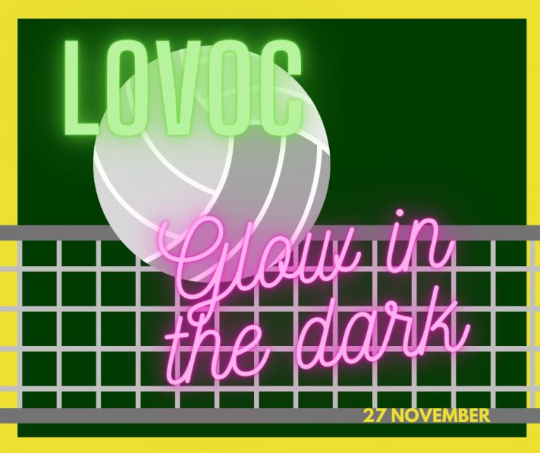 Lees meer over het artikel LoVoC's 1e Glow-in-the-dark volleybaltoernooi